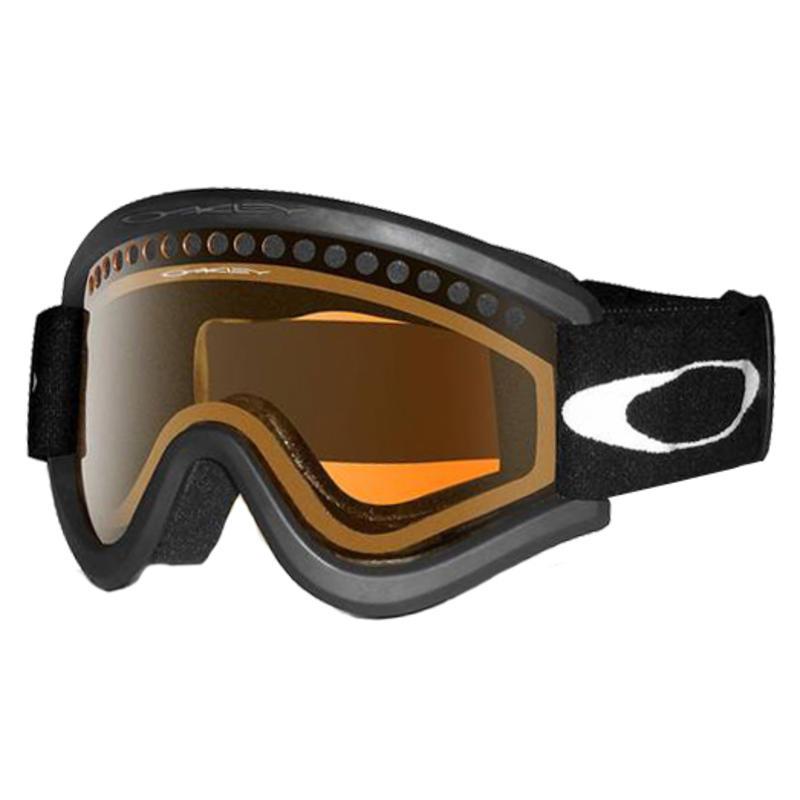 E-Frame Goggles Matte Black/Persimmon