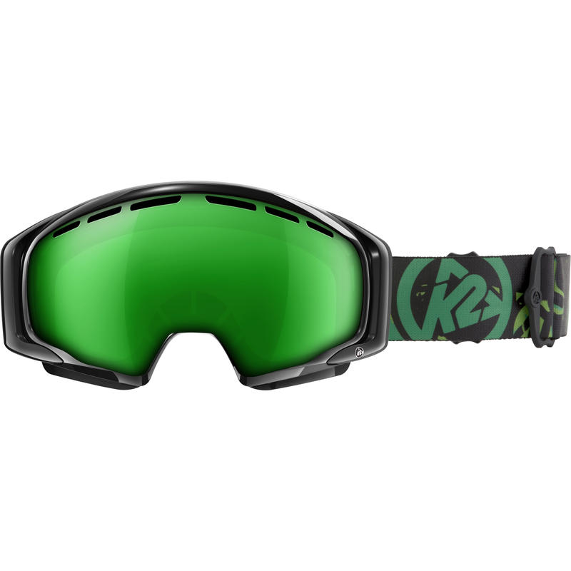 Photometric Goggles Gloss Black/Brown Green Octic Mirror