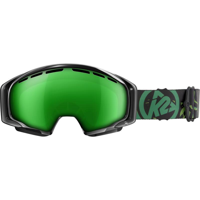 Lunettes de ski Photometric Brillant noir/Brun vert OM