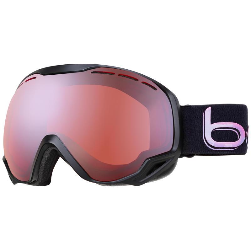 Lunettes de ski Emperor Caméléon noir/Agrume métallique