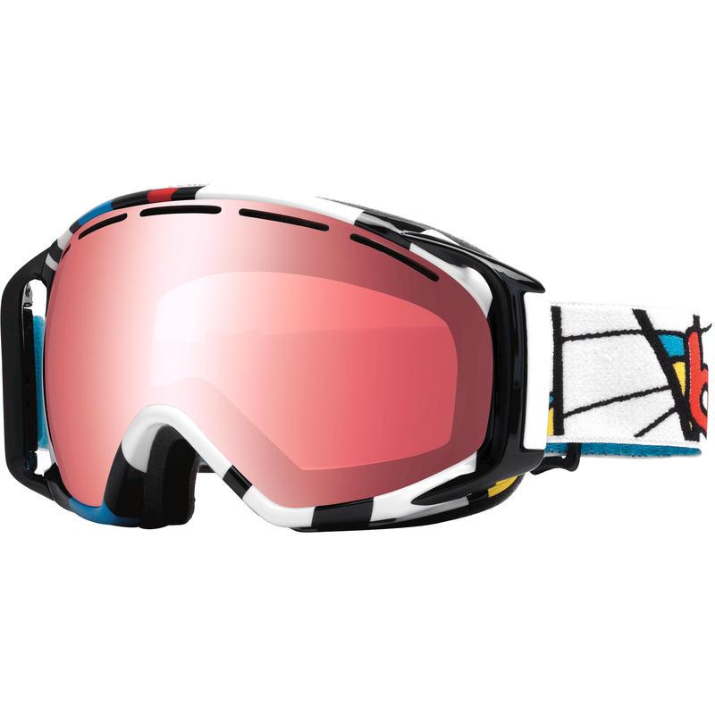 Lunettes de ski Gravity Mondrian Tiki/Vermillon métallique