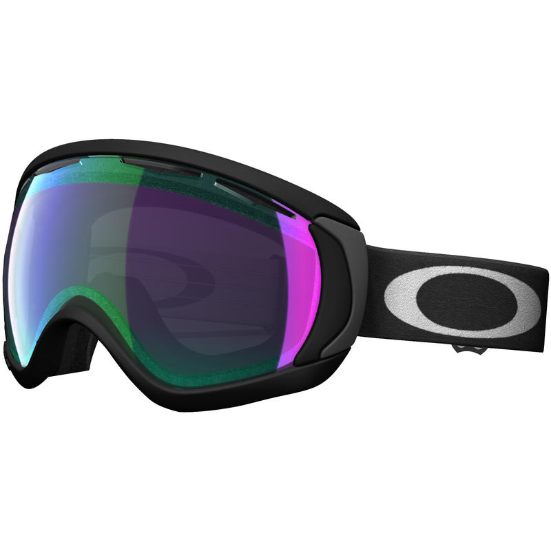 Lunettes de ski Canopy Noir mat/Iridium jade Prizm
