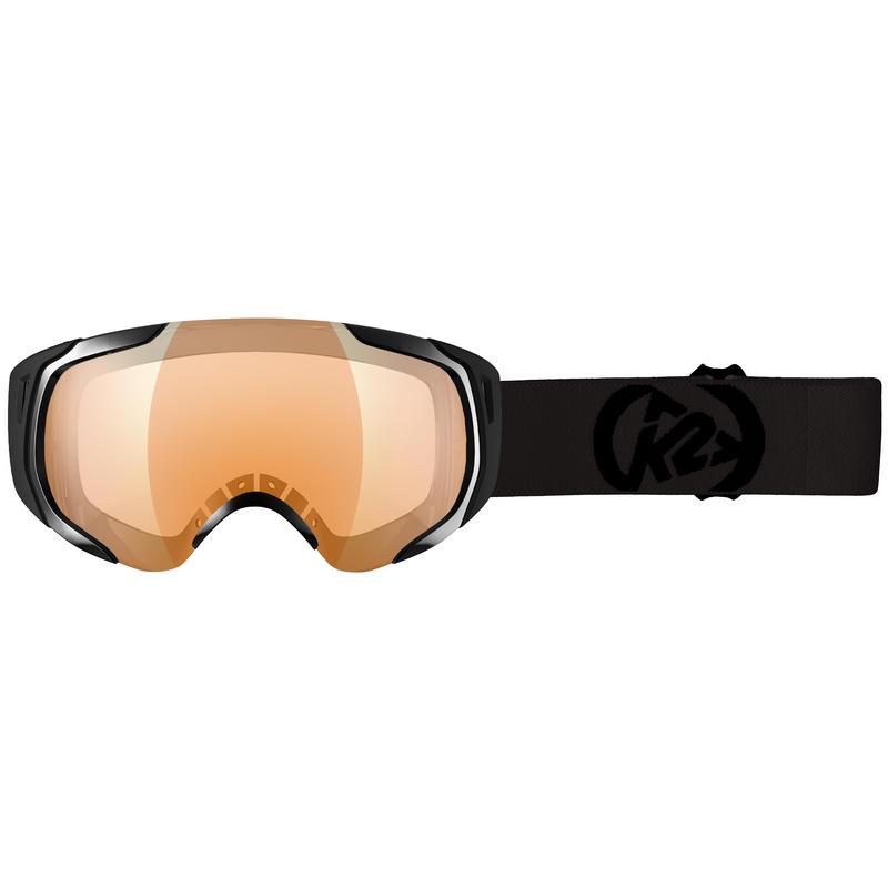 Lunettes de ski Photoantic Noir/Orange