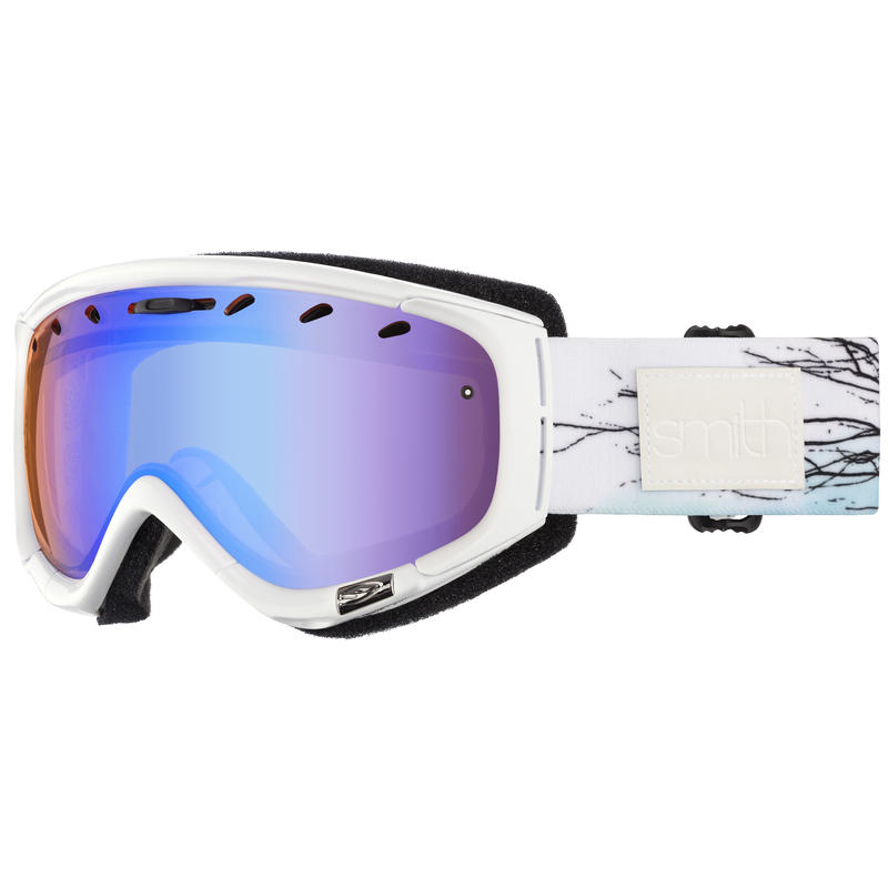 Phase Goggles White Branching Out/Blue Sensor Mirror