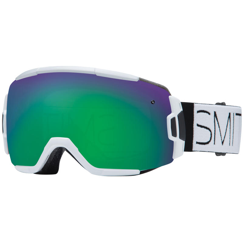Vice Goggles White Block/Green Sol-X