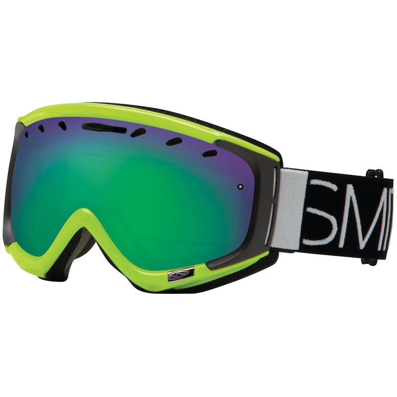 Phenom Goggles Acid Block/ Green Sol-X Mirror