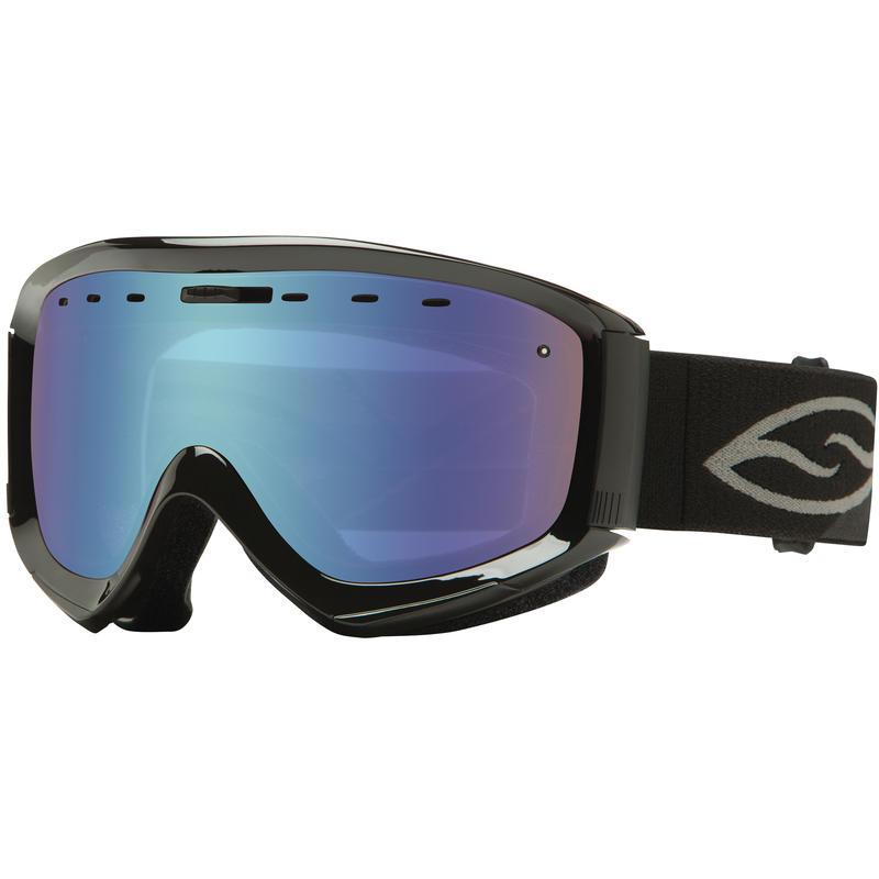 Lunettes de ski Prophecy OTG Noir/Capteur bleu