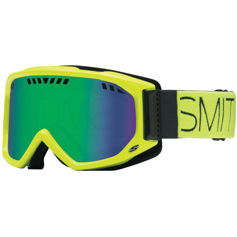 Lunettes de ski Scope Bloc acide/Vert Sol-X