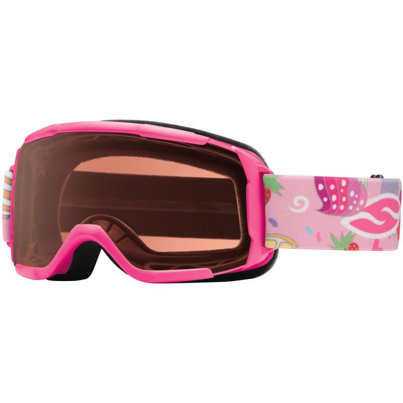 Lunettes de ski Daredevil OTG Petits gâteaux rose vif/RC36