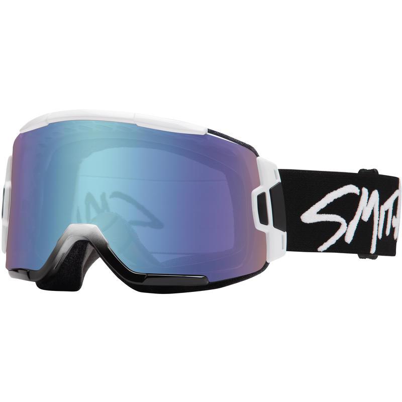 Lunettes de ski Squad Blanc/Bleu miroir