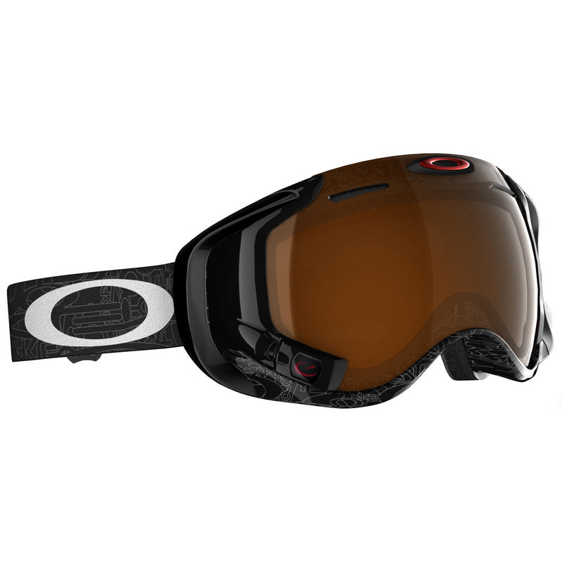 Airwave 1.5 Goggles Silver Text/Black Iridium