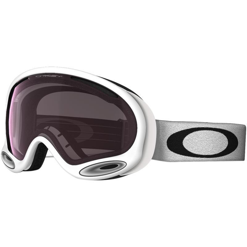 Lunettes de ski A-Frame Blanc poli/Prizm Rose