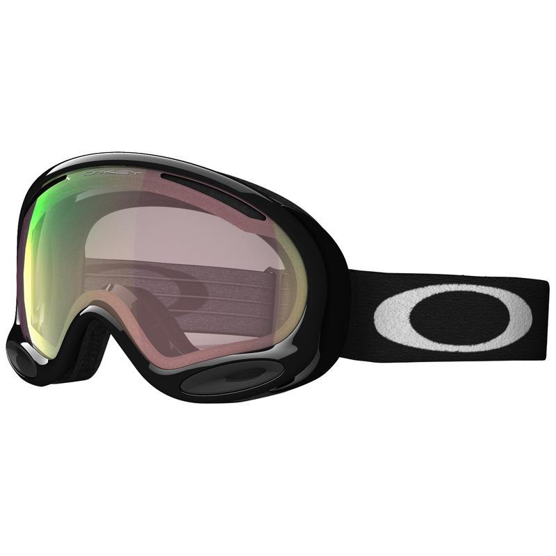 Lunettes de ski A-Frame Asian Fit Noir de jais/Rose Iridium