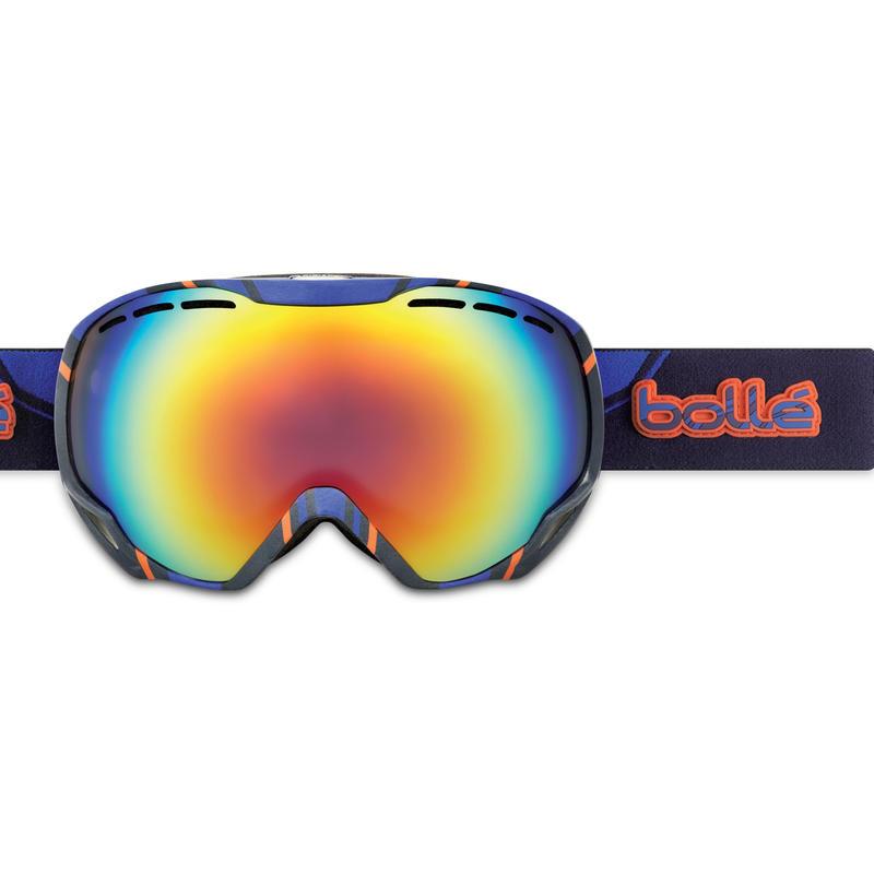 Lunettes de ski Emperor Bleu/Aube orangée