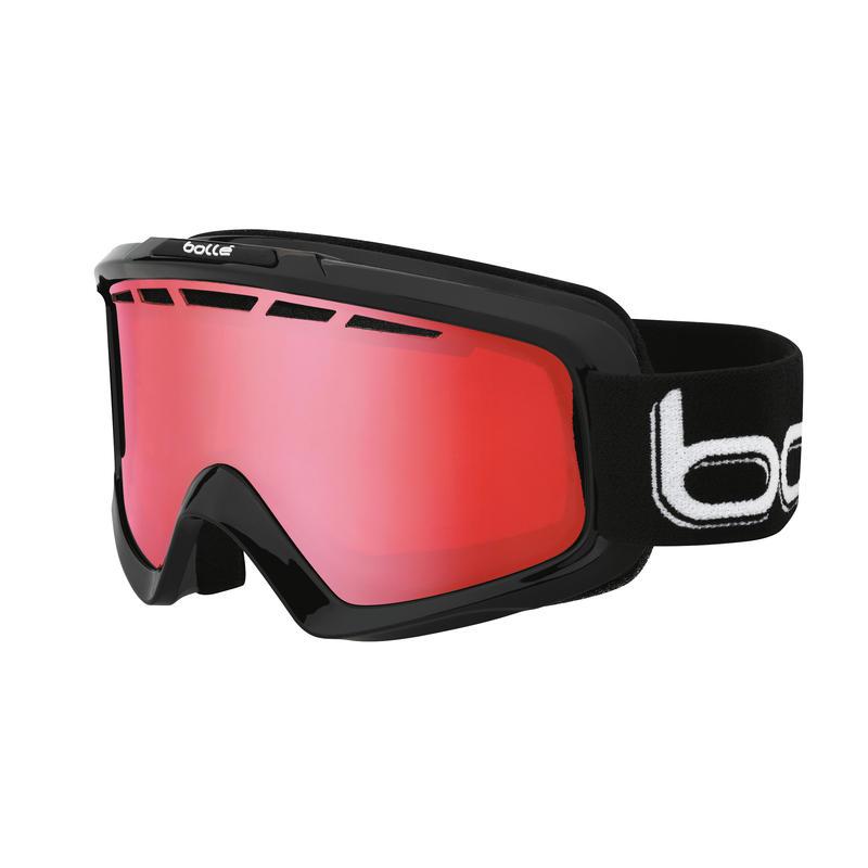 Nova II Goggles Shiny Black/Polarized Vermillon