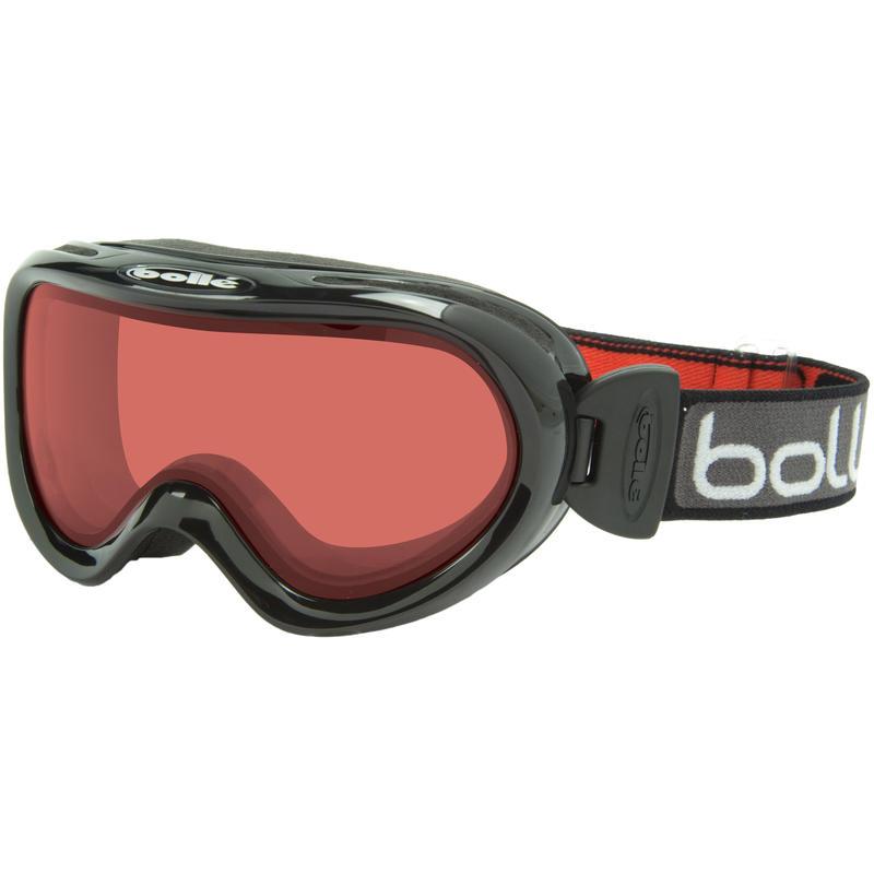 Lunettes de ski Boost OTG Noir/Vermillon