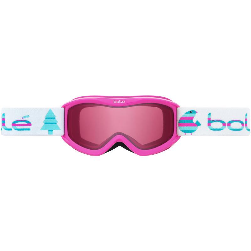 Lunettes de ski Amp Oiseaux roses/Vermillon