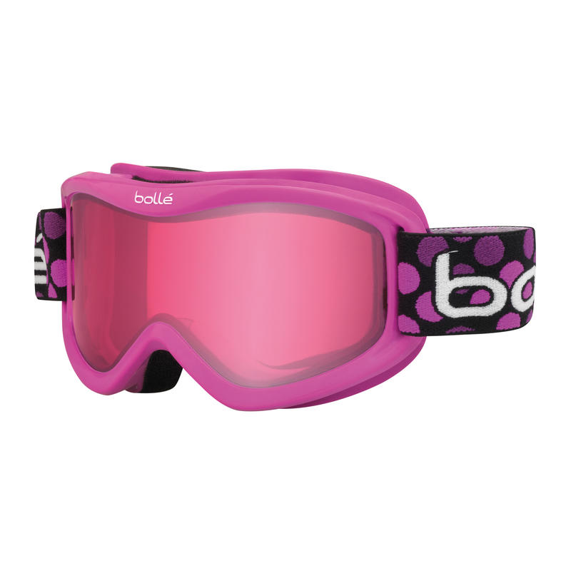 Lunettes de ski Volt Pois roses/Vermillon