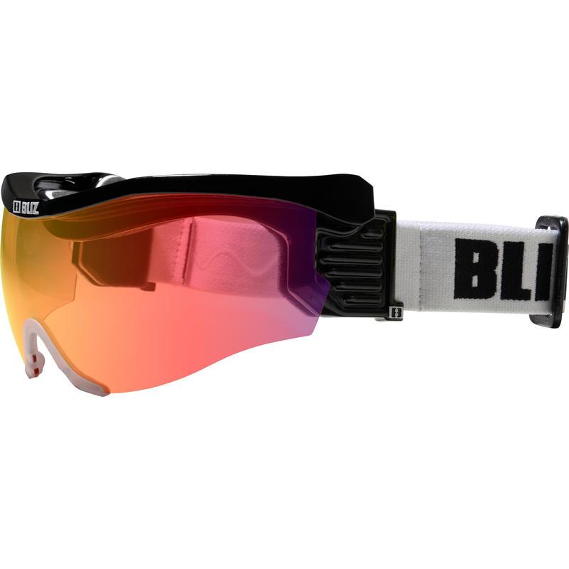 Lunettes de ski Pro Flip XT Visor Noir/Multi rouge rosé