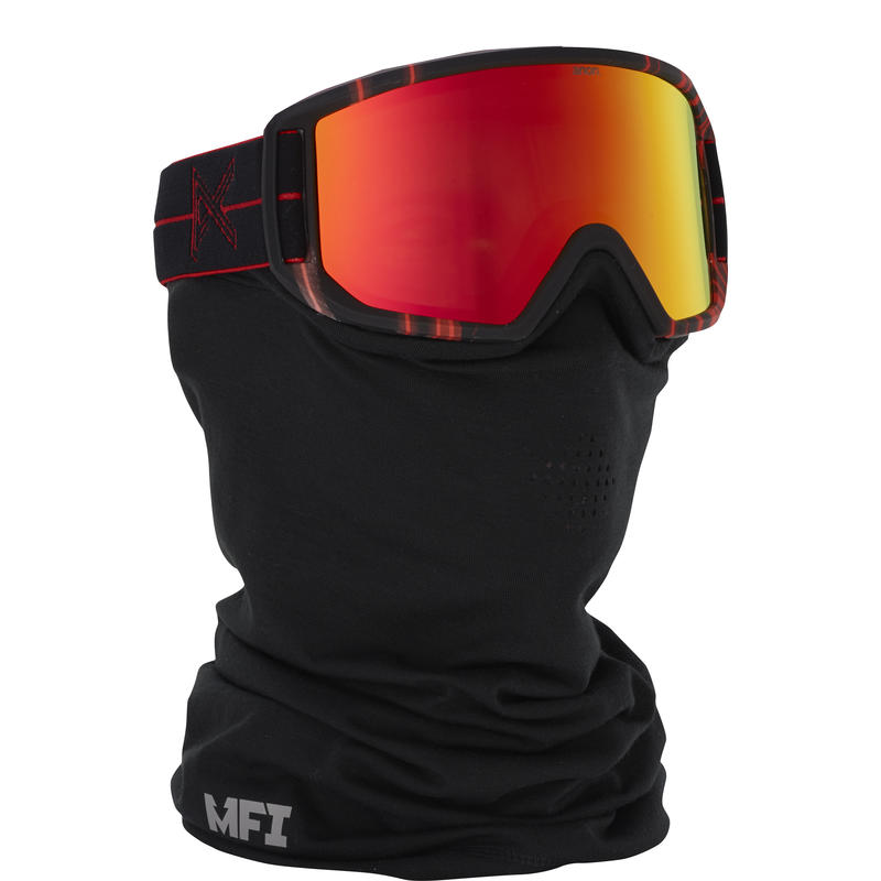 Relapse MFI Goggles + Facemask Red Light/Red Solex