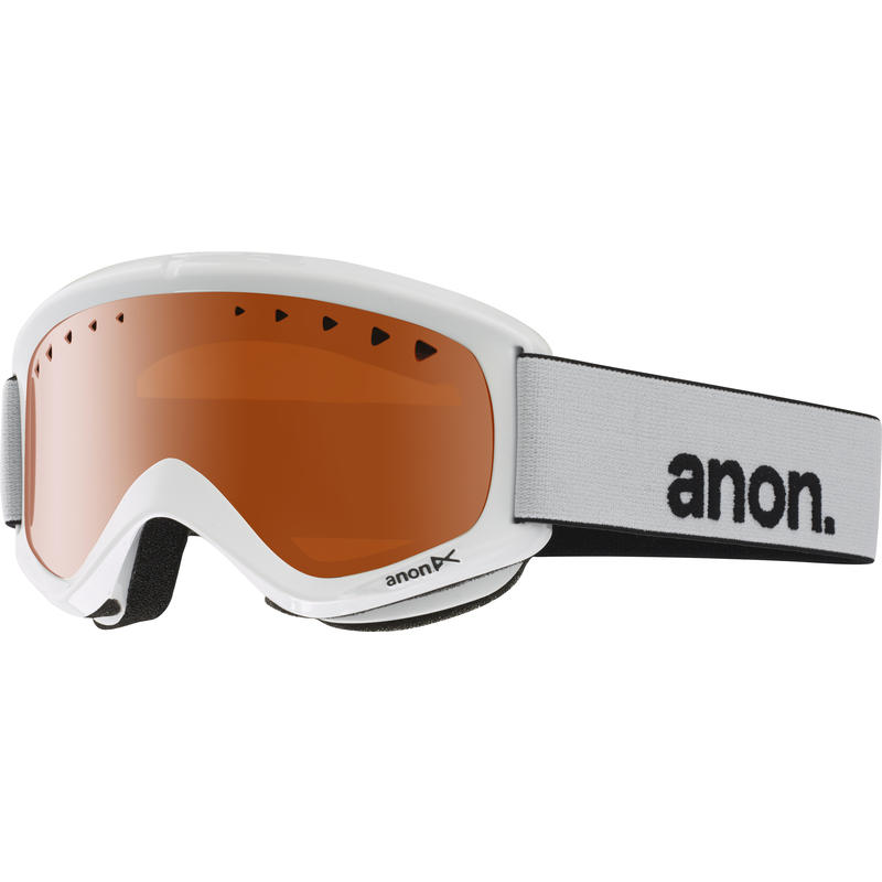 Lunettes de ski Helix Blanc/Ambré