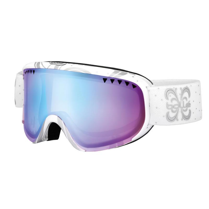 Lunettes de ski Scarlett Blanc nuit lustré/Aurore
