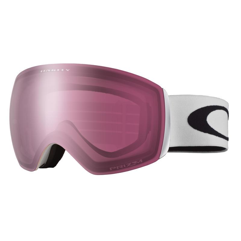 Lunettes de ski Flight Deck XM Blanc mat/Rose Prizm