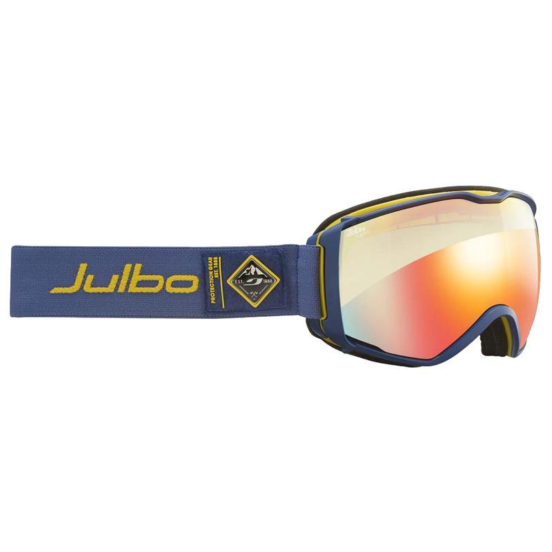 Lunettes de ski Aerospace Jaune bleu/Multicouches zèbre clair
