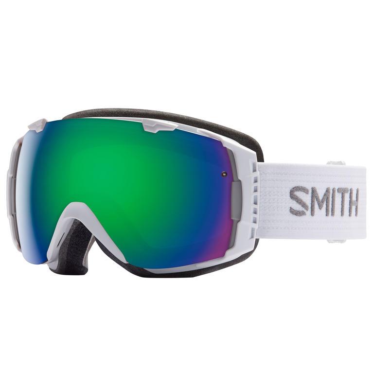I/O Goggles White/Green Sol X Mirror