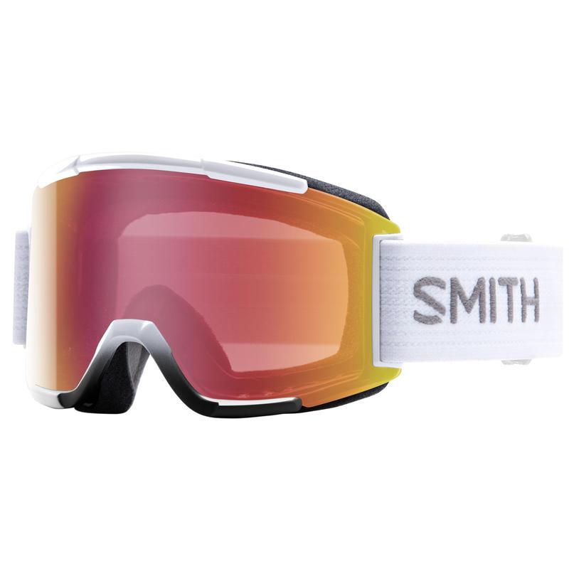 Lunettes de ski Squad Blanc/Rouge capteur miroir