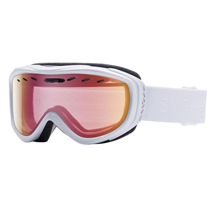 Lunettes de ski Cadence Blanc GBF/Rouge capteur miroir