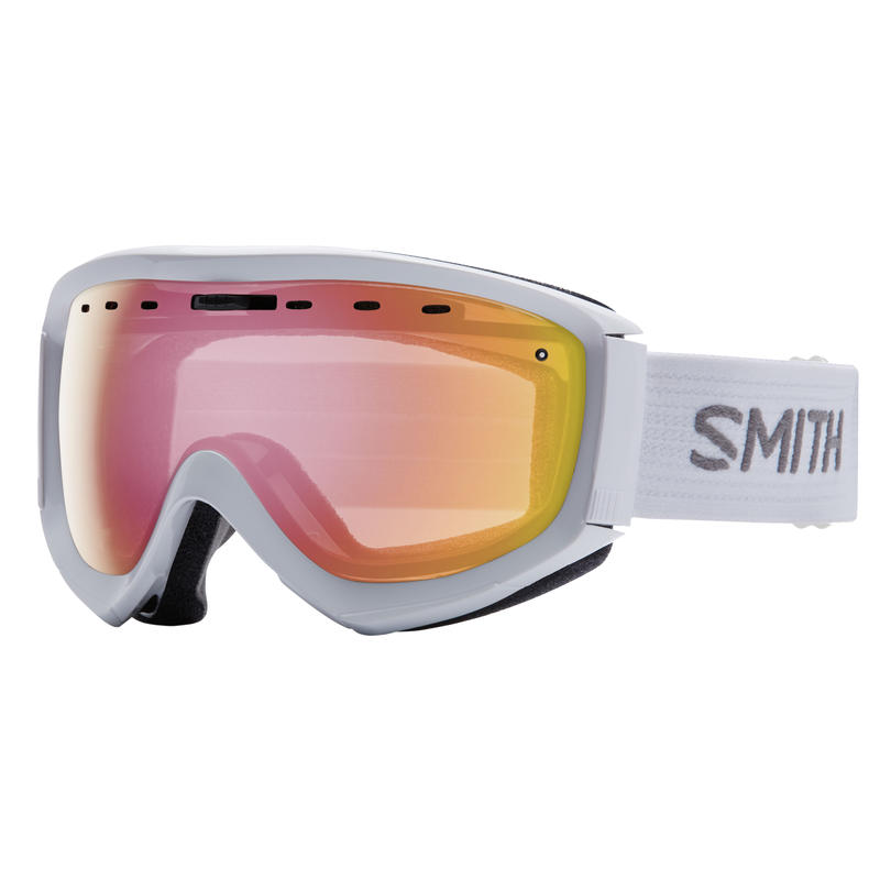 Lunettes de ski Prophecy OTG Blanc/Rouge capteur miroir
