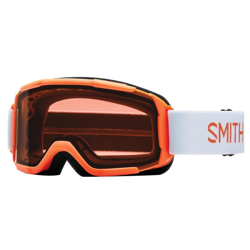 Lunettes de ski Daredevil OTG Hamburger orange néon/RC36