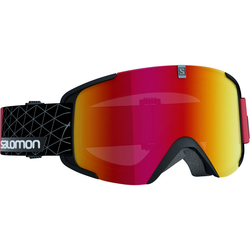 Lunettes de ski Xview Noir/Rouge