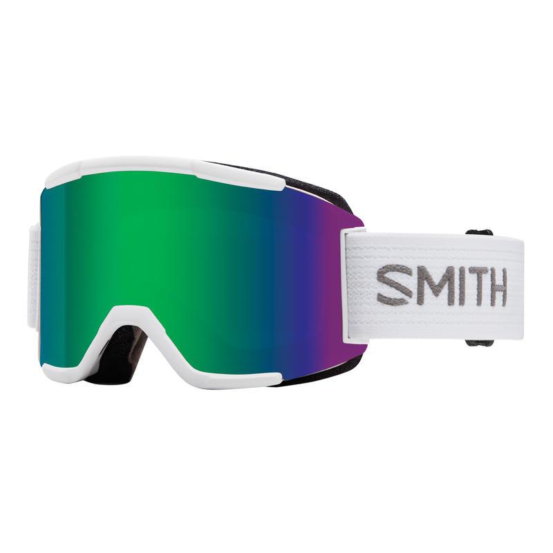 Lunettes de ski Squad Blanc/Vert Sol-X miroir