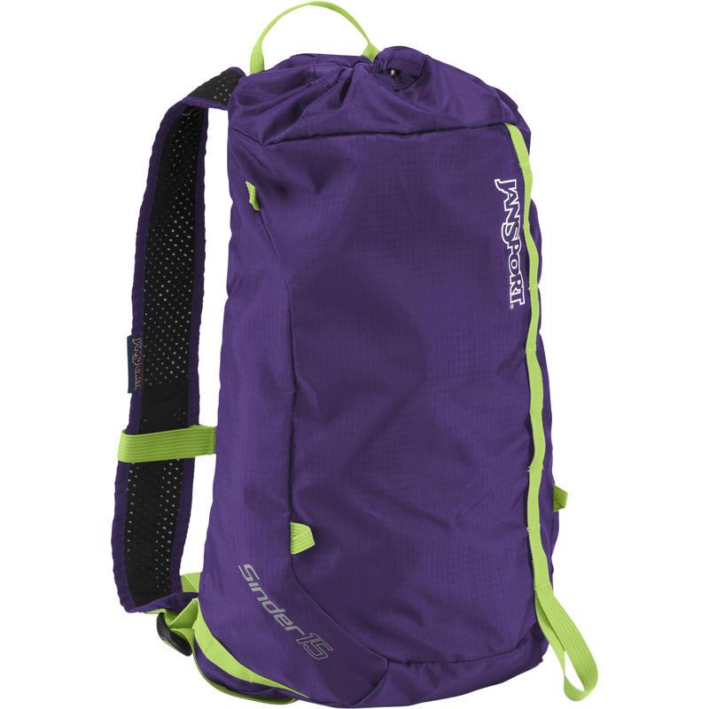 Sinder 15L Daypack Purple Night/Zap Green