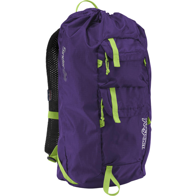 Sinder 22L Daypack Purple Night/Zap Green