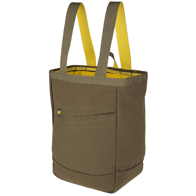 Agens Ti Tote Pack Moss/Yukon Gold
