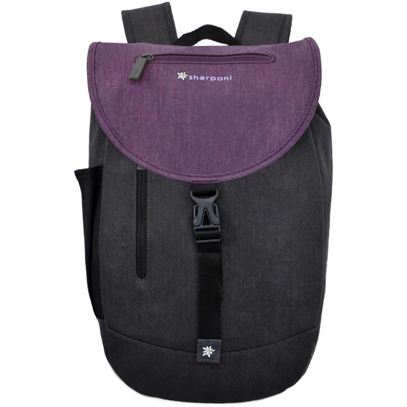 Oli Backpack Heathered Black/Plum