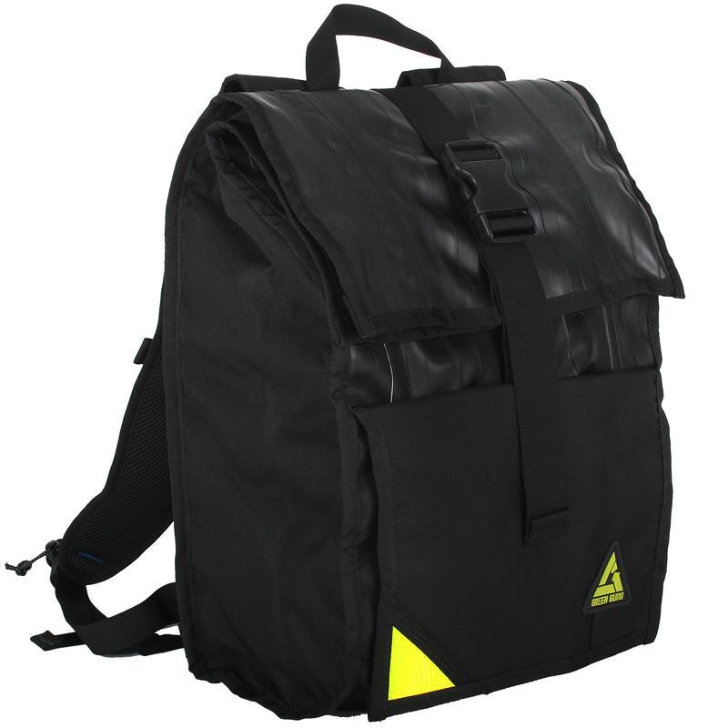 Commuter Roll Top Backpack Black