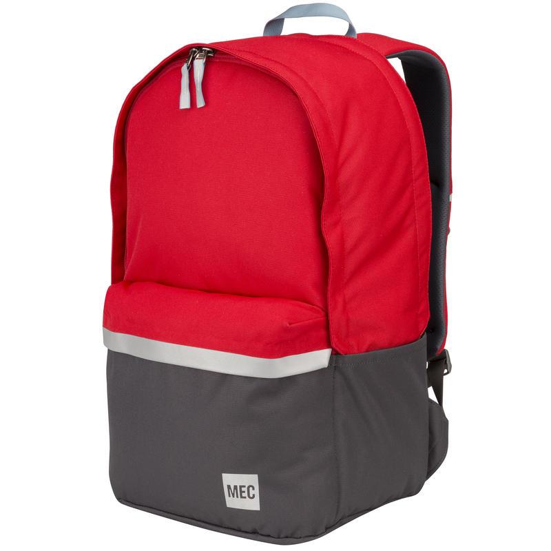 Senior Book Bag Red Pepper/Eclipse