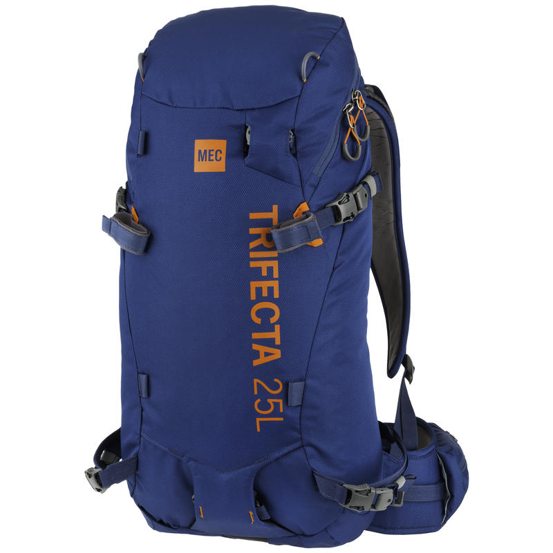 Trifecta Ski Daypack Poseidon/Rustic Orange