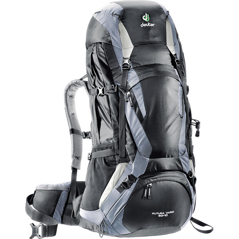 Futura Vario 50+10 Backpack Black/Titan