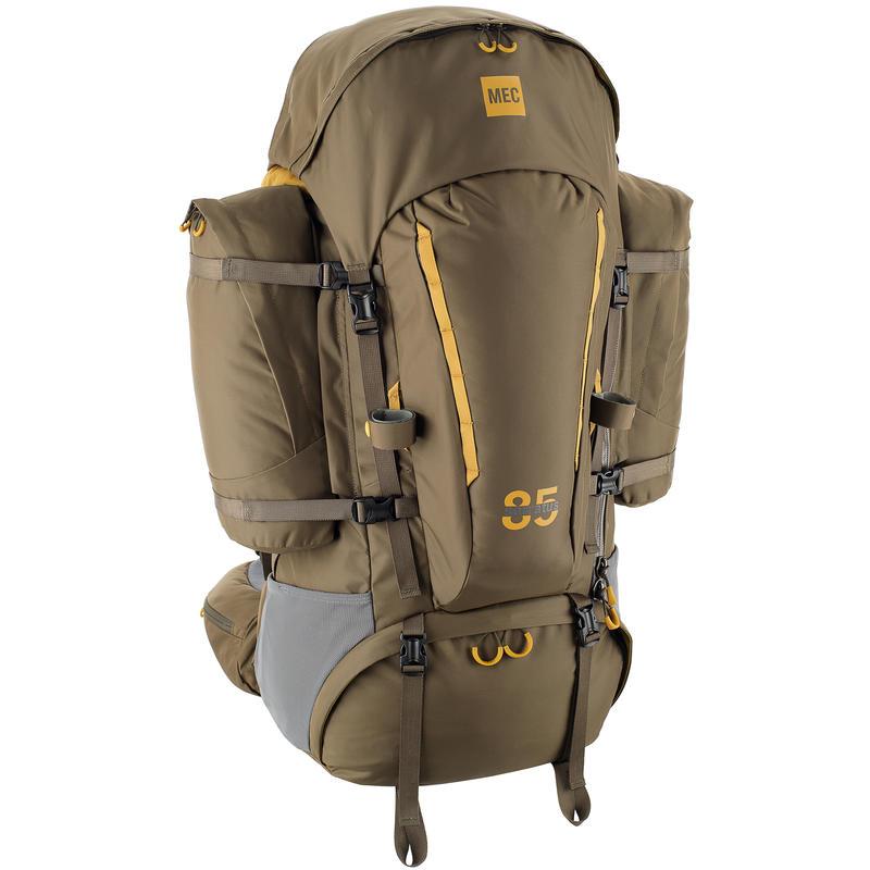 Serratus 85 Backpack Trail/Harvest Gold