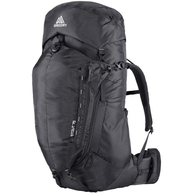 Stout 75 Backpack Storm Black