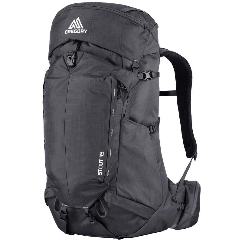 Stout 45 Backpack Storm Black