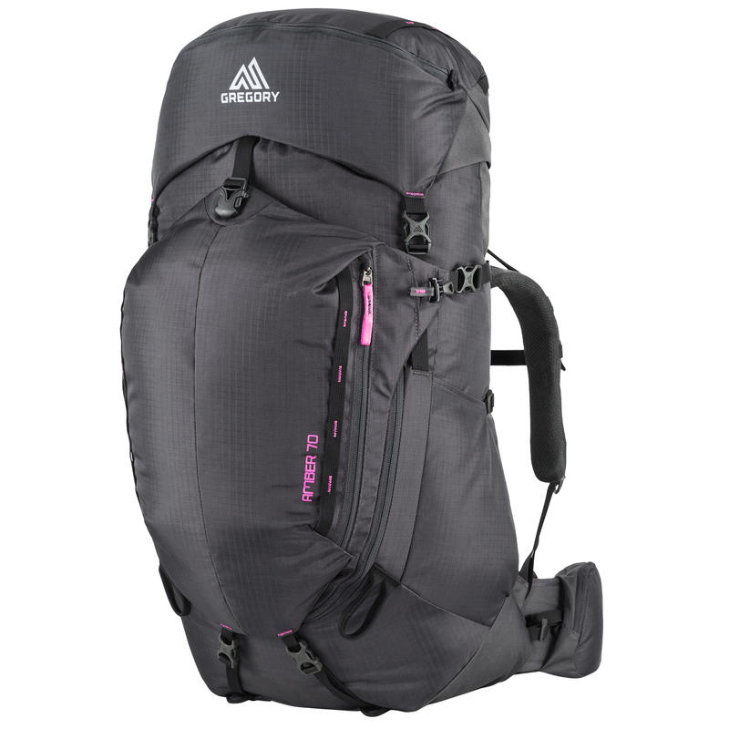Amber 70 Backpack Shadow Black/Berry