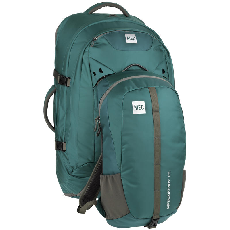 Supercontinent 65 Travel Pack Sherwood
