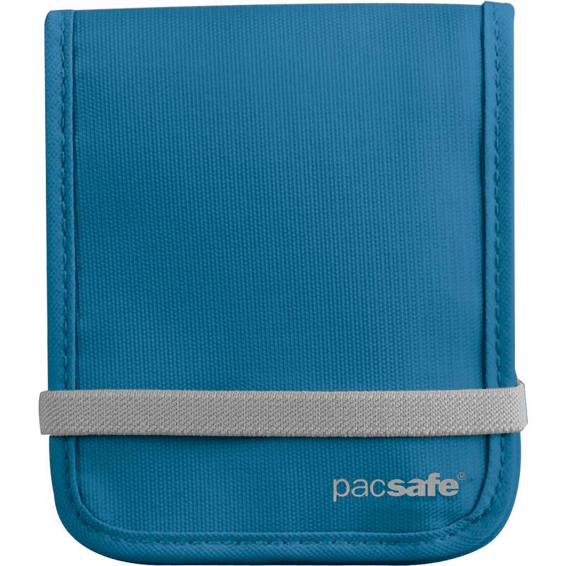 Portefeuille pliable RFID-Tec 100 Bleu océan