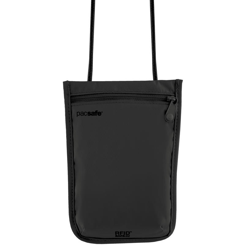RFIDsafe 75 Neck Pouch Black
